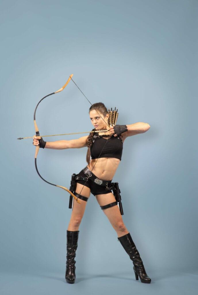 Tomb Raider, Bogenschiessen Show