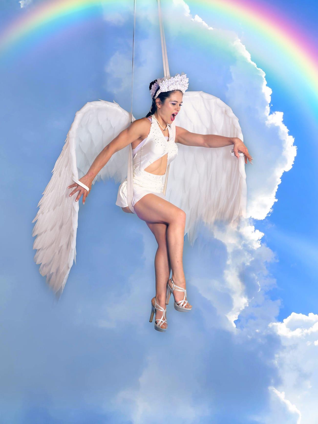 Luft Engel, Weihnacht Engel Nummer